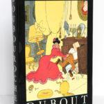 Boubouroche, Georges Courteline. Aux Éditions du Livre, 1958. Illustrations de Dubout. Couverture.