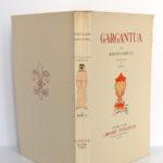 Gargantua, François Rabelais. Gibert Jeune Librairie d'Amateur, 1940. Illustrations de Dubout. Couverture : plats et dos.