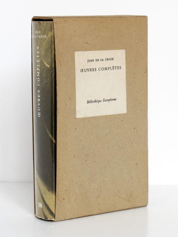 Œuvres complètes, Jean de la Croix. Desclée de Brouwer, 1967. Livre dans son carton d'origine.
