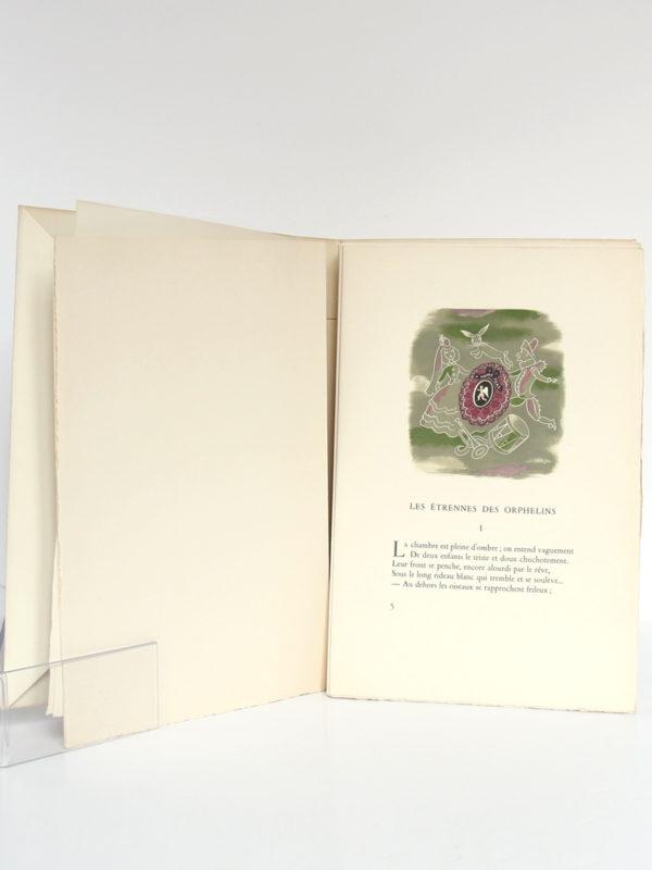 Poésies, Arthur Rimbaud. Marcel Lubineau Éditeur, 1953. Illustrations de Lucien Boucher. Pages intérieures 1.