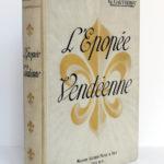 L'épopée vendéenne, G. GAUTHEROT. Maison Alfred Mame & Fils. Plat 1 et dos.