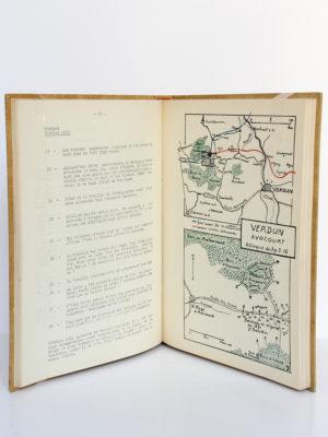Quatorze Dix-huit, Marcel BROCHARD. Mémoire relié, Lyon/Nantes, 1953. Pages intérieures 1.
