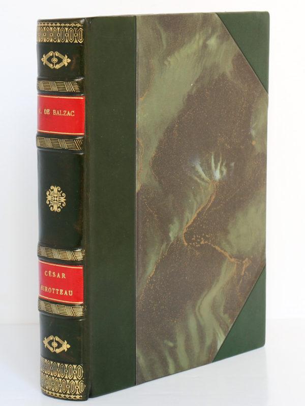 César Birotteau, Honoré de BALZAC. Dessins de PierreLEROY. Éditions Albert Guillot, 1948. Reliure.