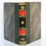 César Birotteau, Honoré de BALZAC. Dessins de PierreLEROY. Éditions Albert Guillot, 1948. Reliure : dos et plats.