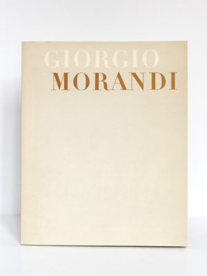 Giorgio Morandi. Catalogue de l'exposition au Musée National d'Art moderne à Paris en 1971. Couverture.
