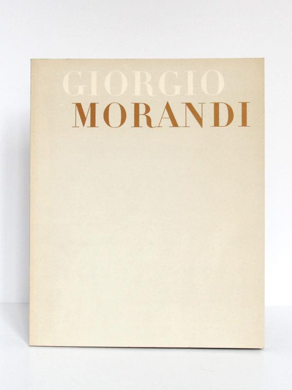 Giorgio Morandi. Catalogue de l'exposition au Musée National d'Art moderne à Paris en 1971. Couverture.