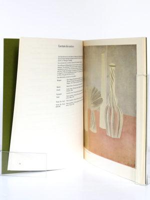 Giorgio Morandi. Catalogue de l'exposition au Musée National d'Art moderne à Paris en 1971. Pages intérieures.