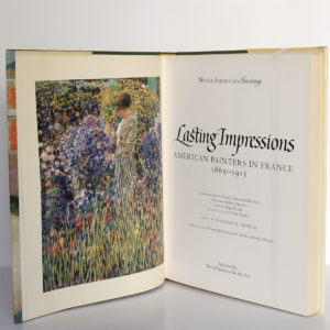 Lasting Impressions. American painters in France 1865-1915. Terra Foundation for the Arts, 1992. Frontispice et page titre.