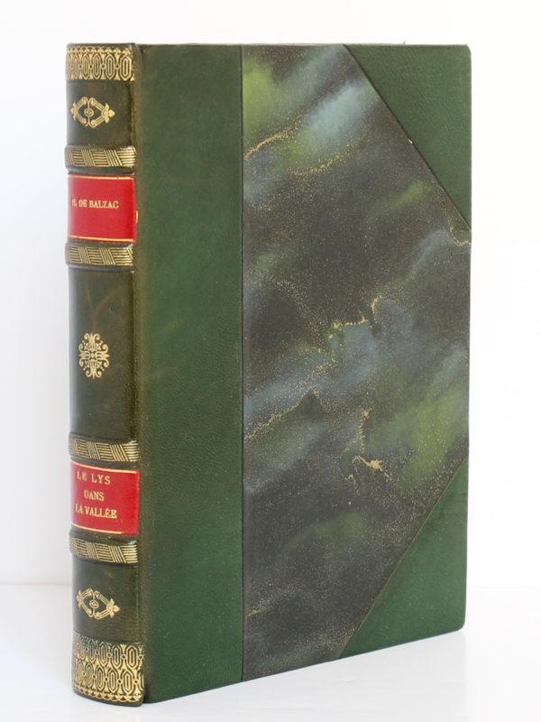 Le Lys dans la vallée, Honoré de BALZAC. Eaux-fortes de NickPETRELLI. Éditions Albert Guillot, 1950. Reliure.