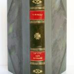 Le Lys dans la vallée, Honoré de BALZAC. Eaux-fortes de NickPETRELLI. Éditions Albert Guillot, 1950. Reliure : dos et plats.