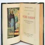 Le Père Goriot, Honoré de BALZAC. Dessins de JacquesROUBILLE. Éditions Albert Guillot, 1948. Frontispice et page titre.