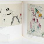 Marc Chagall en Russie. Catalogue de l'exposition en 1991 à la Fondation Pierre Giannada à Martigny en Suisse. Broché. Pages intérieures.