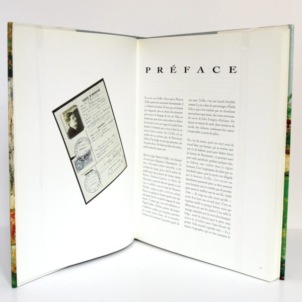 Maurice Utrillo folie ? Jean FABRIS. Édition Galerie Pétridès, 1992. Pages intérieures 1.