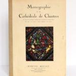 Monographie de la cathédrale de Chartres, Étienne HOUVET. Sans date [après 1939]. Couverture.