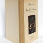 Monographie de la cathédrale de Chartres, Étienne HOUVET. Sans date [après 1939]. Chemise.