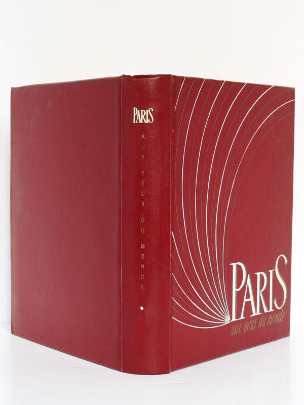 Paris aux yeux du monde, lithographies de Grau Sala. Deux-Rives, 1951. Reliure : dos et plats.