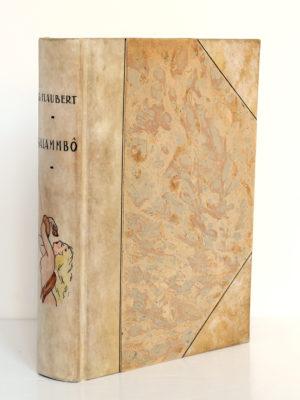 Salammbo, Gustave FLAUBERT. Dessins de LOBEL-RICHE. Rombaldi, 1939. Reliure.