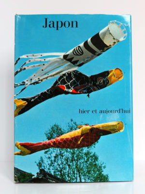 Japon hier et aujourd'hui, 100 photographies par EmilSCHULTHESS. Éditions Silva, 1960. Couverture.