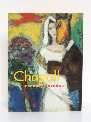 Chagall connu et inconnu, catalogue Grand Palais, Paris 2003. Couverture.
