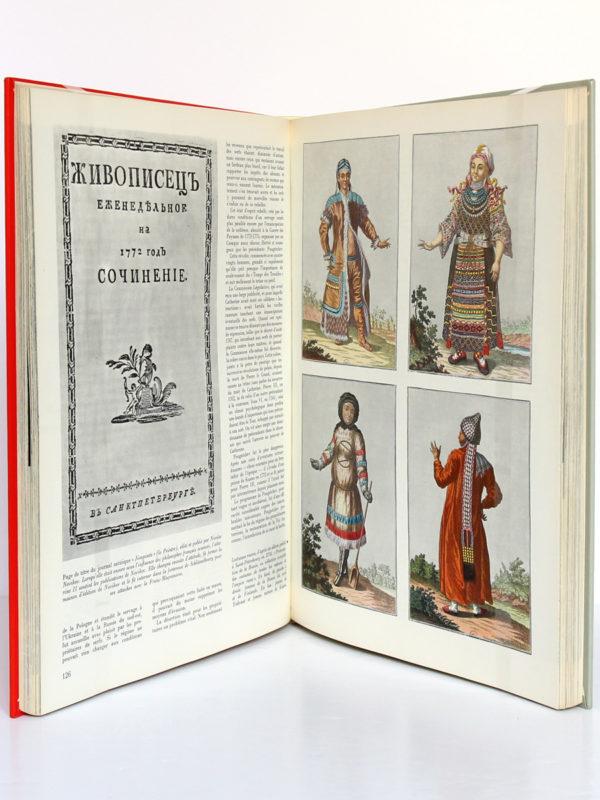 Histoire illustrée de la Russie, Joel Carmichael. nrf-Gallimard, 1960. Pages intérieures.
