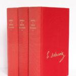 Journal de Eugène Delacroix. Librairie Plon, 1960. 3 volumes. Reliures.