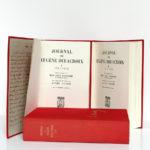 Journal de Eugène Delacroix. Librairie Plon, 1960. 3 volumes. Pages titres volumes 1 et 2.