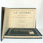 La Guerre. Documents de la section photographique de l'armée. 2 volumes. 1916. Tome second : page titre.