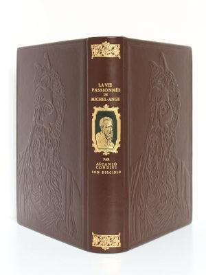 La Vie passionnée de Michel-Ange, Ascanio CONDIVI. Chez Jean de Bonnot, 1975. Reliure : dos et plats.