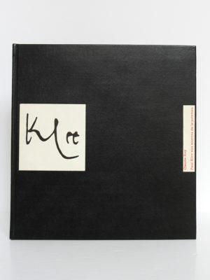 Paul Klee aux sources de la peinture, Claude ROY. Le Club français du livre, 1963. Couverture.