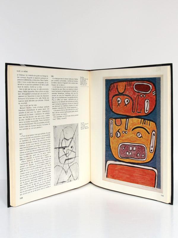 Paul Klee aux sources de la peinture, Claude ROY. Le Club français du livre, 1963. Pages intérieures.