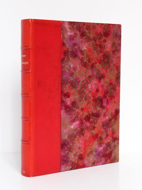 The Early Work of Aubrey Beardsley, Dover Publication Inc. sans date [1967 ou après]. Reliure.