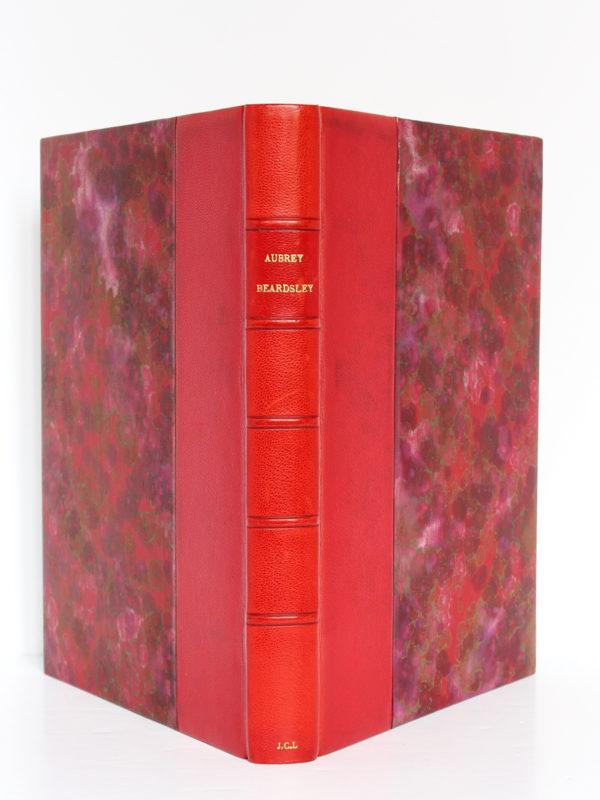 The Early Work of Aubrey Beardsley, Dover Publication Inc. sans date [1967 ou après]. Reliure : dos et plats.