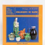 Céramiques du Maine, Philippe Durand. Éditions Cénomane, 1986. Couverture.
