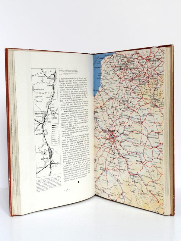 Géographie des chemins de fer français. Tome 1 : La S.N.C.F. H. Lartilleux. Chaix, 1946. Pages intérieures 1.