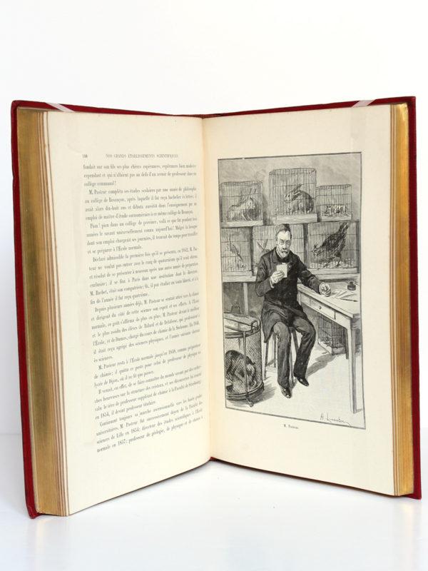 L'Institut de France et nos grands établissements scientifiques, Alexis Lemaistre. Librairie Hachette & Cie, 1896. Pages intérieures 1.