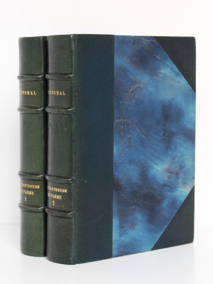 La Chartreuse de Parme, Stendhal. Aquarelles de Paul Domenc. La Belle Édition, sans date [1947]. Reliures.