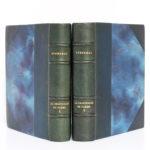 La Chartreuse de Parme, Stendhal. Aquarelles de Paul Domenc. La Belle Édition, sans date [1947]. Reliures : dos et plats.
