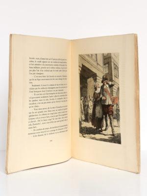 La main enchantée, Gérard de Nerval. Illustrations de Emmanuel Blanche. Éditions Marcel Besson, 1943. Pages intérieures.
