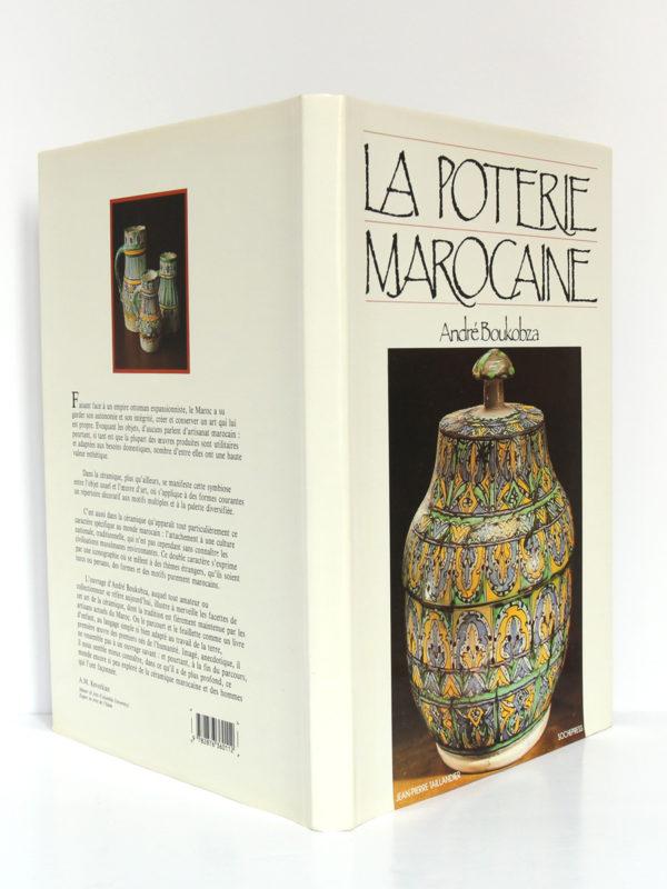 La poterie marocaine, André Boukobza. Jean-Pierre Taillandier, 1987. Jaquette.