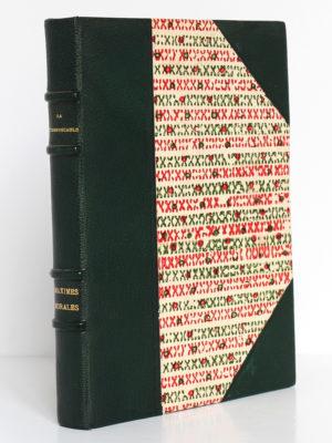 Maximes morales, La Rochefoucauld. Émile Hazan, 1930. Reliure.