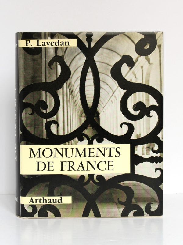 Pour connaître les monuments de France, Pierre LAVEDAN avec la collaboration de Simone GOUBERT. Arthaud, 1970. Couverture.