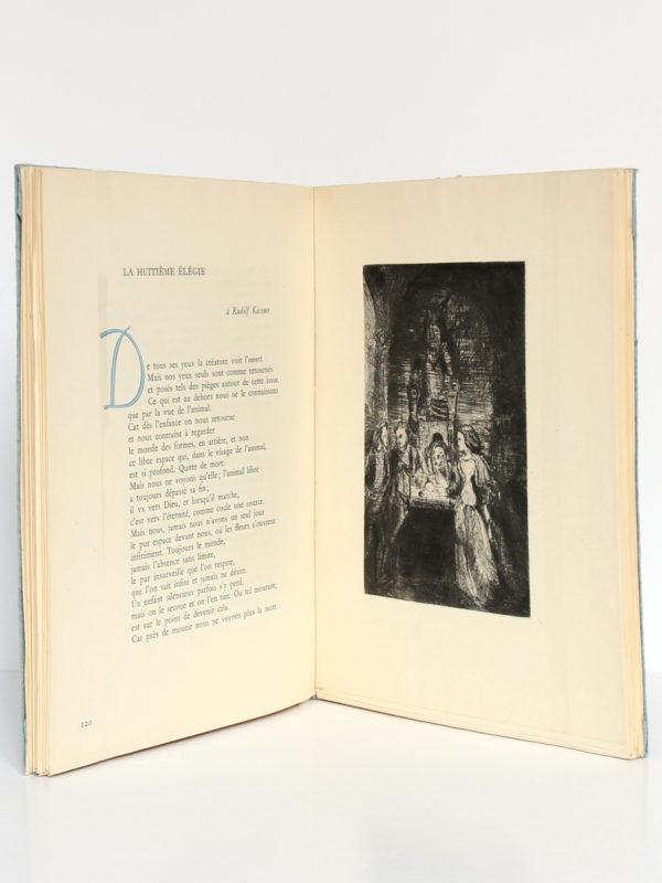 Poésie, Rainer Maria RILKE. Éditions Émile-Paul Frères, 1943. Pages intérieures.