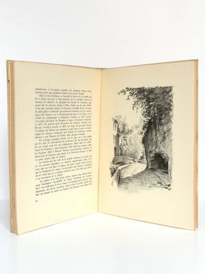 Royat Notes d'art et d'histoire, Alphonse BLANC. Lithographies originales de Jean ARCHIMBAUD. Jean de Bussac Imprimeur-Éditeur, 1947. Pages intérieures 1.
