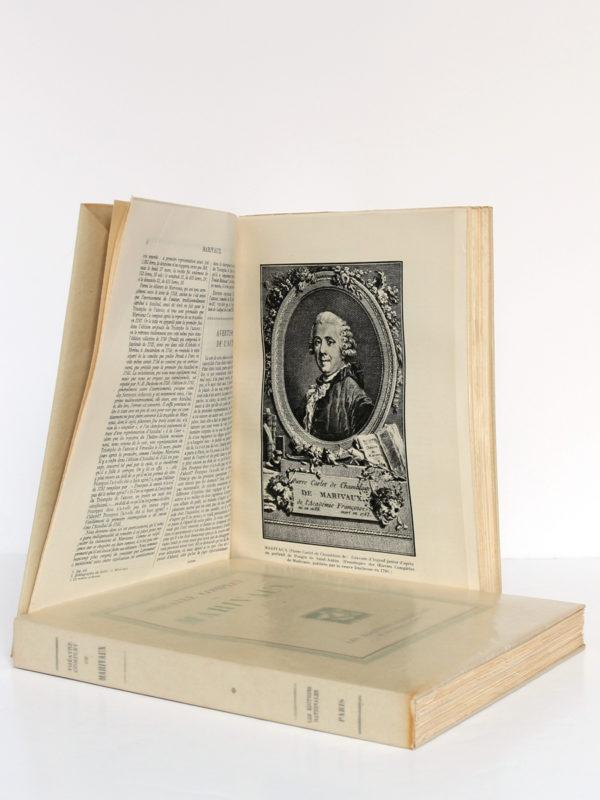 Théâtre complet de Marivaux. Les Éditions Nationales, 1946-1947. Volume 2 : pages intérieures.