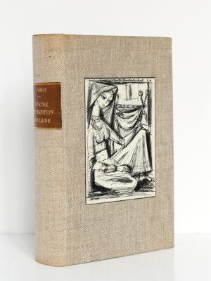 Théâtre de tradition populaire, publié par Jean VARIOT. Robert Laffont, 1942. Reliure.