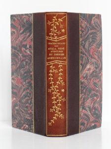 Atala, René, Aventures du dernier Abencerage, Chateaubriand. Alphonse Lemerre Éditeur, 1879. Reliure : dos et plats.