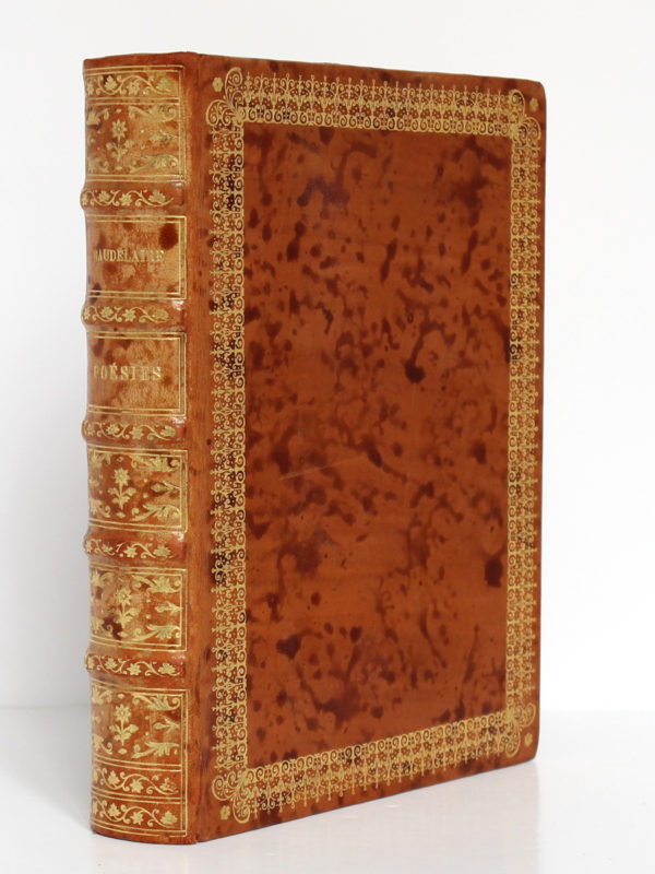 Poésies de Baudelaire. Le livre français H. Piazza éditeur, 1926. Reliure.