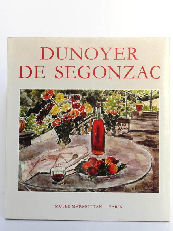 Dunoyer de Ségonzac. Catalogue de l'exposition au musée Marmottan du 26 mars au 2 juin 1985. Couverture.