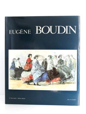Eugène Boudin, G. Jean-Aubry, Robert Schmit. Ides et Calendes, 1987. Couverture.