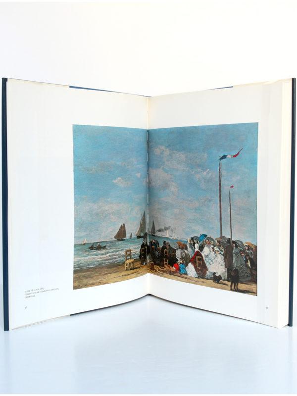 Eugène Boudin, G. Jean-Aubry, Robert Schmit. Ides et Calendes, 1987. Pages intérieures 1.